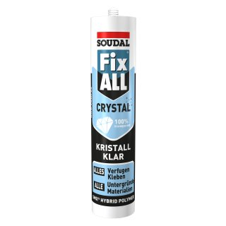 SOUDAL Fix All Crystal / 300 g Kartusche