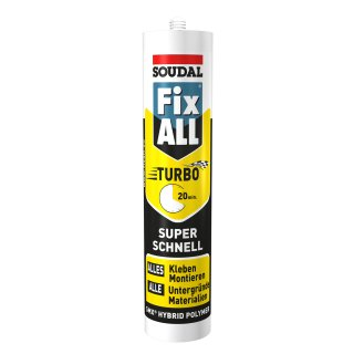 SOUDAL Fix All Turbo / WEISS / 430 g Kartusche