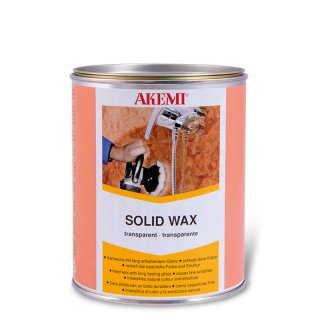 Akemi Solid Wax /Transparent / 900 ml