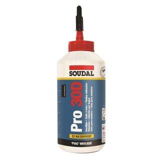 SOUDAL Holzleim Pro 30D / 750 g Flasche