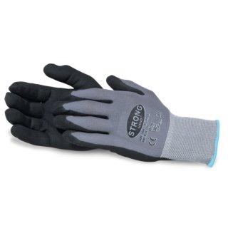 Arbeitshandschuhe Gr. 8 / Strickhandschuh ATLANTA  / Strong Hand / 9 Paar
