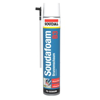 SOUDAL Brunnenschaum / Adapter B3 / SET 12 x 750 ml