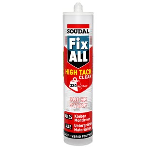 SOUDAL Fix All / High Tack CLEAR / 305 g