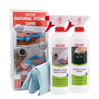 Akemi Natural Stone Care Set