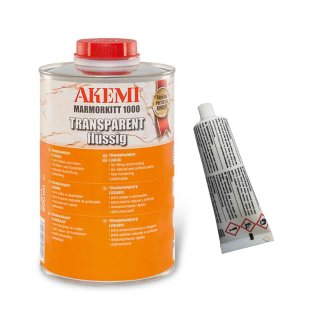 Akemi Marmorkitt 1000 / Transparent / 900 ml Dose