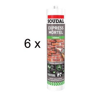 SOUDAL Express Mörtel / 6 x 300 ml