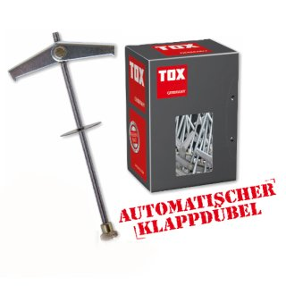 TOX Federklappdübel Spagat / M3 / 2 Stück