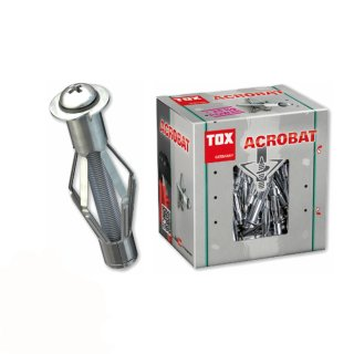 TOX Metall-Hohlraumdübel Acrobat 4/38 / 4 Stück