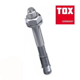 TOX Bolzenanker S-Fix Pro 1 / verzinkt / M10 x 100/20 / 1 Stück