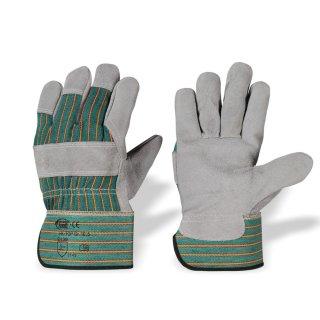 STRONG HAND® Rindspaltleder-Handschuhe Gr. 10,5  / HK/TOP / 12 Paar