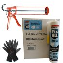 SOUDAL Fix All Crystal 12 x 300g + Skelettpistole +...